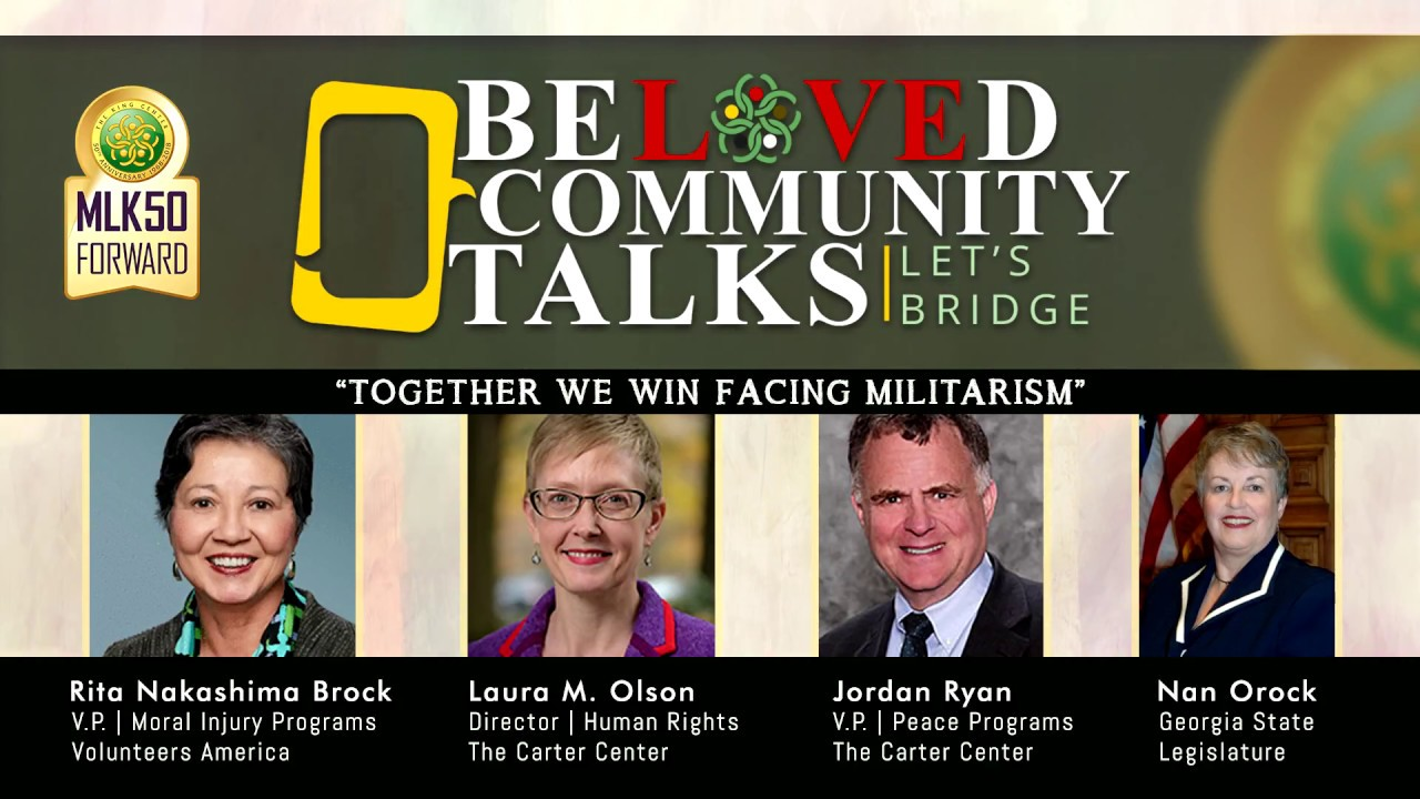 Beloved Community Talks: Together We Win Facing Militarism