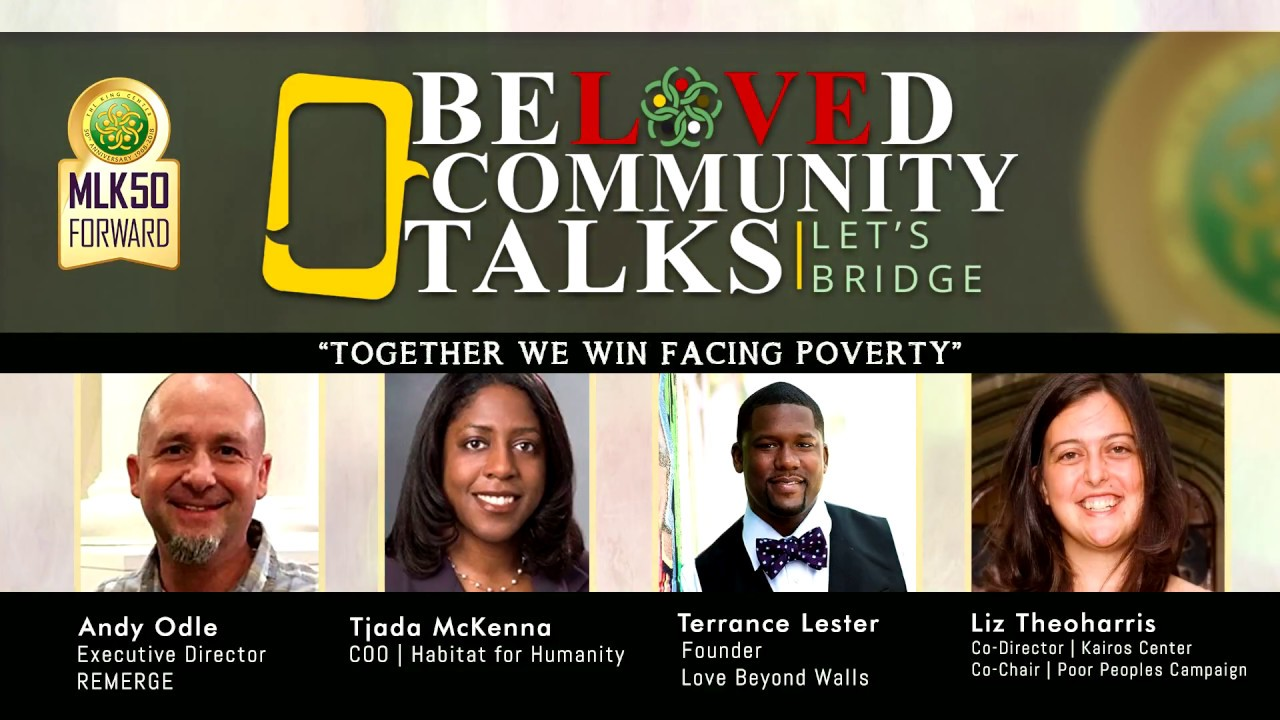 Beloved Community Talks: Together We Win Facing Poverty