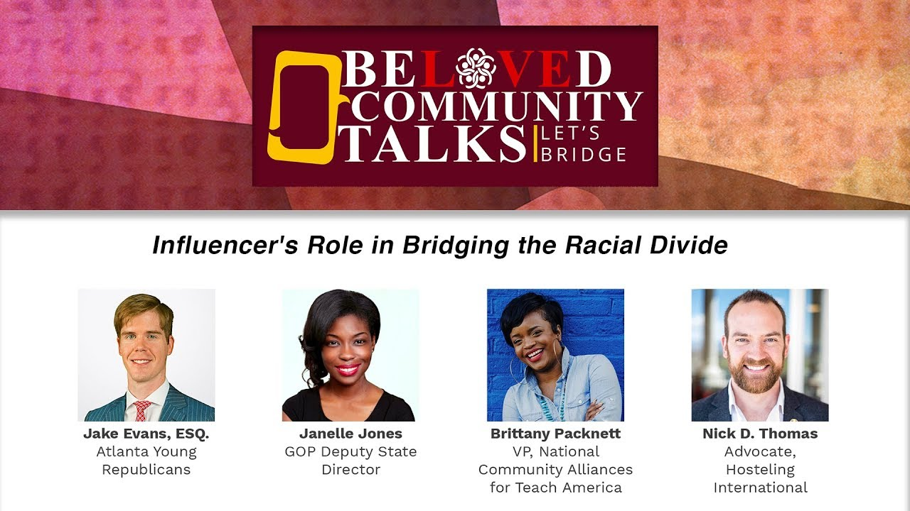 Influencer's Role in Bridging the Racial Divide